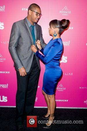 Carmelo Anthony Lala Vasquez  Us Weekly's 25 Most Stylish New Yorkers of 2011 - Arrivals New York City, USA...