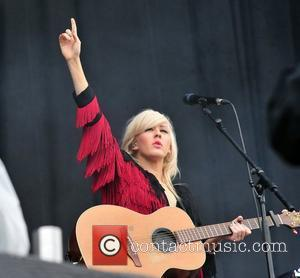 Ellie Goulding V festival at Weston Park - Day one  Staffordshire, England - 20.08.11