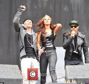 N-Dubz V Festival at Weston Park - Day One  Staffordshire, England - 20.08.11
