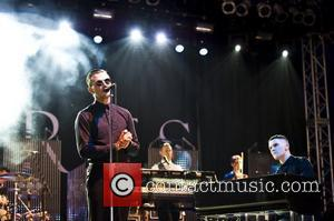 Hurts  V Festival at Hylands Park - Day Two  Chelmsford, England - 21.08.11