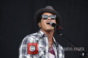 Bruno Mars V Festival at Hylands Park - Day Two  Chelmsford, England - 21.08.11