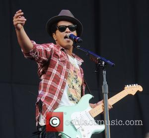 Bruno Mars  V Festival at Weston Park - Day Two  Staffordshire, England - 21.08.11