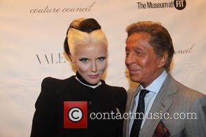 Daphne Guinness and Valentino
