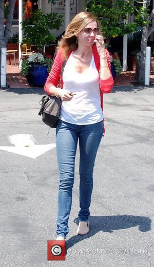 Vanessa Angel leaves Fred Segal in West Hollywood Los Angeles, California - 23.05.11