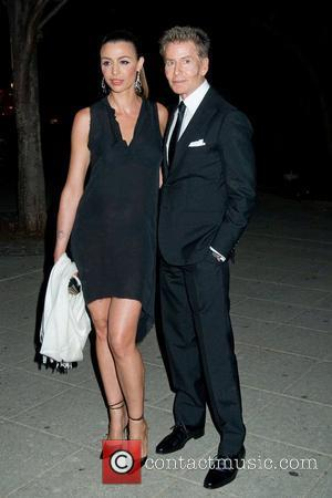 Drena De Niro and Calvin Klein 2011 Tribeca Film Festival Vanity Fair party at the State Supreme Courthouse New York...