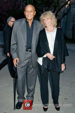 Harry Belafonte and Pamela Belafonte 2011 Tribeca Film Festival Vanity Fair party at the State Supreme Courthouse New York City,...