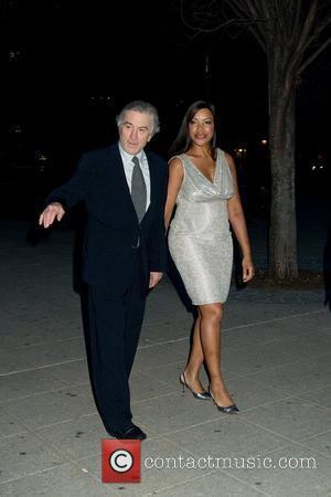 Robert De Niro and Grace Hightower