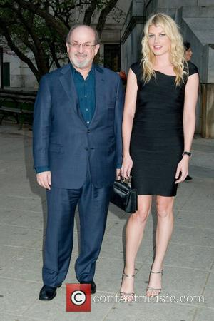 Salman Rushdie and Meredith Ostrom 2011 Tribeca Film Festival Vanity Fair party at the State Supreme Courthouse New York City,...