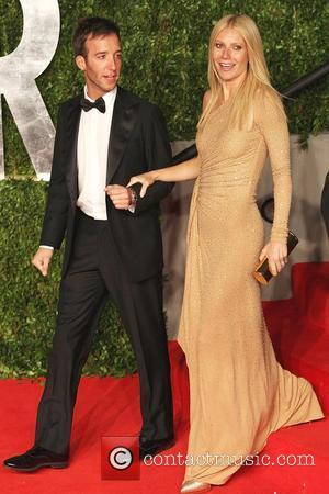 Gwyneth Paltrow and Guest 2011 Vanity Fair Oscar Party at the Sunset Tower Hotel in Hollywood Los Angeles, California -...