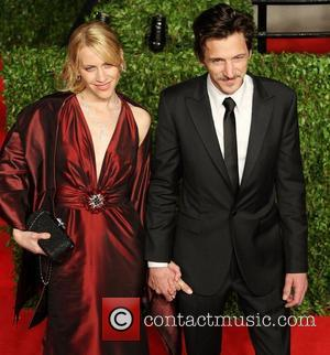 John Hawkes and guest 2011 Vanity Fair Oscar Party at the Sunset Tower Hotel in Hollywood Los Angeles, California -...