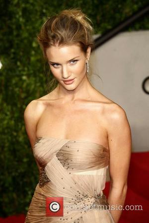 Rosie Huntington-Whiteley 2011 Vanity Fair Oscar Party at Sunset Tower Hotel - Arrivals West Hollywood, California - 27.02.11