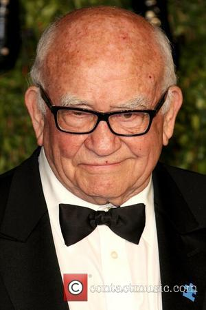 Ed Asner 2011 Vanity Fair Oscar Party at Sunset Tower Hotel - Arrivals West Hollywood, California - 27.02.11