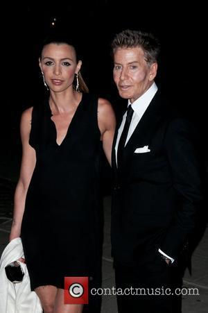 Drena De Niro and Calvin Klein