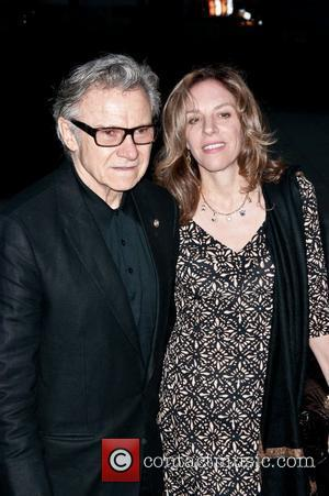 Harvey Keitel  2011 Tribeca Film Festival - Vanity Fair party at the State Supreme Courthouse - Arrivals  New...