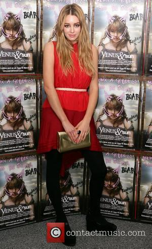 Keeley Hazell at the UK film premiere of 'Venus and The Sun' London, England - 10.03.11