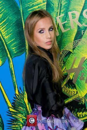 Allegra Versace Versace for H&M Fashion Show and Party  New York City, USA - 08.11.11