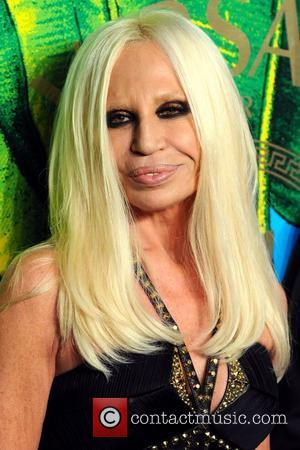 Donatella Versace Versace for H&M Fashion Show and Party  New York City, USA - 08.11.11