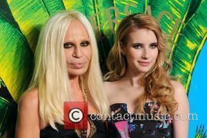Versace and Emma Roberts