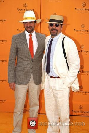 Kevin Spacey The Veuve Clicquot Gold Cup Final at Cowdray Park Polo Club - Arrivals West Sussex, England - 17.07.11
