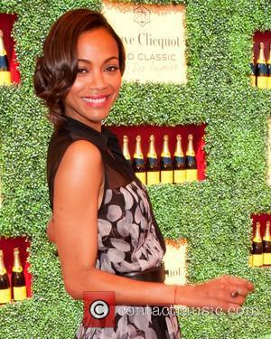 Zoe Saldana The Veuve Clicquot Polo Classic Los Angeles at Will Rogers State Historic Park - Arrivals Los Angeles, California...