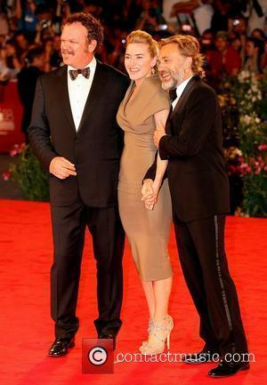 John C Reilly, Christoph Waltz and Kate Winslet