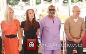 Gwyneth Paltrow, Jennifer Ehle, Laurence Fishburne and Matt Damon