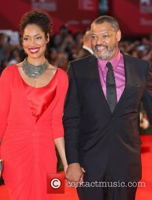 Gina Torres, Laurence Fishburne The 68th Venice Film Festival - Day 4 - Contagion - Premiere- Arrivals  Venice, Italy...