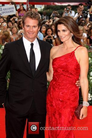 Rande Gerber and Cindy Crawford 68th Venice Film Festival - Day 1 - 'The Ides of March' - Red Carpet...
