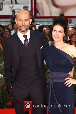 Mark Strong and his wife Liza Marshall The 68th Venice Film Festival - Day 6 - Tinker, Taylor, Soldier, Spy...