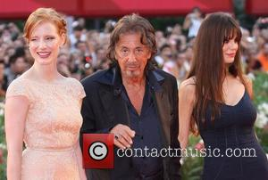 Jessica Chastain and Al Pacino
