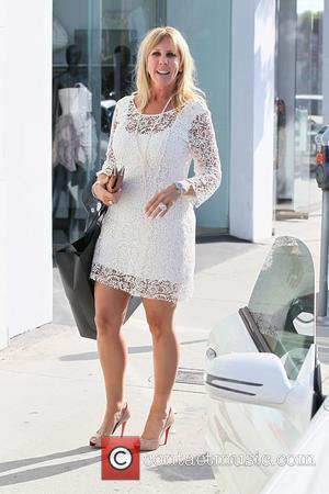 Real Housewife of Orange County, Vicki Gunvalson shops at Faith Connexion in West Hollywood West Hollywood. California - 11.05.11