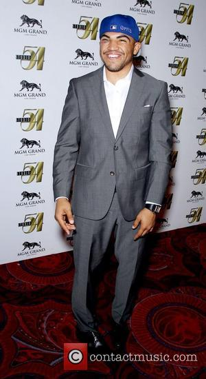 Victor Ortiz Vicious Victor Ortiz hosts Ultimate After-Fight Party at Studio 54 at MGM Grand Resort and Casino  Las...