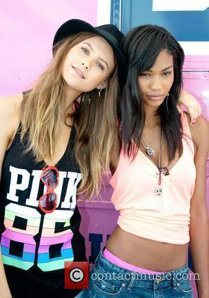 Behati Prinsloo, CHANEL and Iman