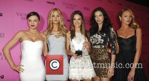 Miranda Kerr, Adriana Lima, Alessandra Ambrosio and Erin Heatherton