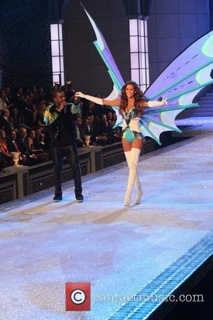 Kanye West  2011 Victoria's Secret Fashion Show at the Lexington Avenue Armory - Performance New York City, USA -...