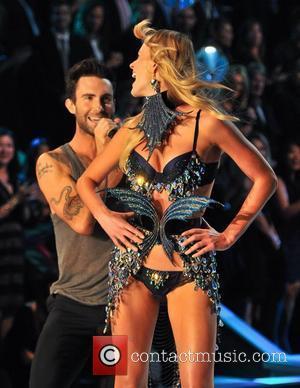 Adam Levine and Victoria's Secret