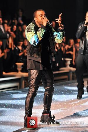Kanye West 2011 Victoria's Secret Fashion Show at the Lexington Avenue Armory - Performance New York City, USA - 09.11.11