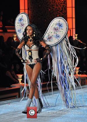 Model, Lily Aldridge and Victoria's Secret