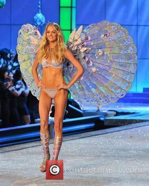 Model, Erin Heatherton and Victoria's Secret