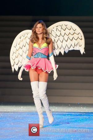 Model, Chanel Iman and Victoria's Secret