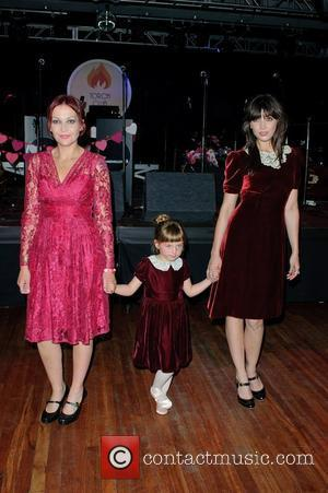 Pearl Lowe and Daisy Lowe