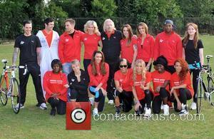 Richard Branson, Chloe Madeley, Matt Willis, Melanie C, Michelle Heaton, Nell Mcandrew, Olivia Hallinan and Susie Amy