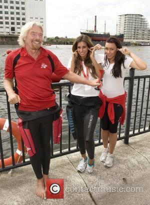 Holly Branson, Michelle Heaton and Stacey Solomon