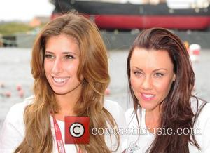 Stacey Solomon and Michelle Heaton