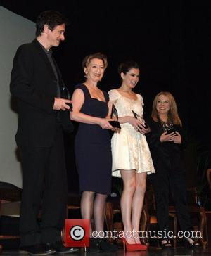 John Hawkes, Lesley Manville, Hailee Steinfeld and Jacki Weaver Attend The Vituosos Awards held at the Lobero Theatre Sanata Barbara,...