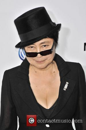 Yoko Ono  The Launch Of The Partnership Between Volkswagen and MoMA - Arrivals  New York City, USA -...