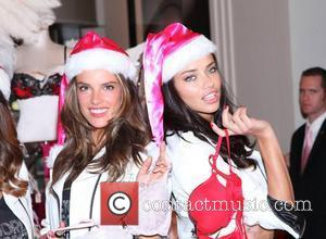 Alessandra Ambrosio, Adriana Lima and Victoria's Secret
