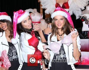 Chanel Iman, Adriana Lima, Alessandra Ambrosio and Victoria's Secret