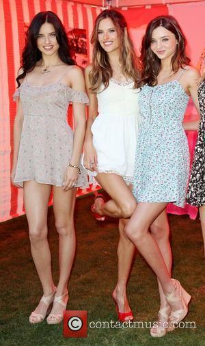 Adriana Lima, Alessandra Ambrosio and Miranda Kerr