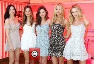 Adriana Lima, Alessandra Ambrosio, Erin Heatherton and Miranda Kerr